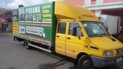 Грузовой фургон Ивеко с длинной базой или меняю на бус